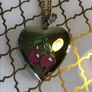 Juicy Couture Cherry Locket Necklace